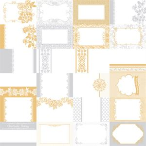 Picture of The Wedded Bliss Collection by Katie Pertiet Designer Journal Cards - Set 25