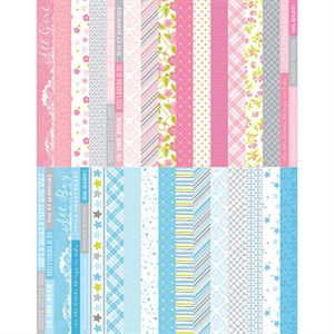 Picture of Pocket Baby Bundle Border Strips by Katie Pertiet - Set 30