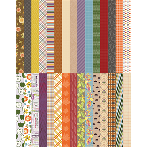 Picture of Pocket All About Fall Border Strips by Lauren Hinds - Set 30